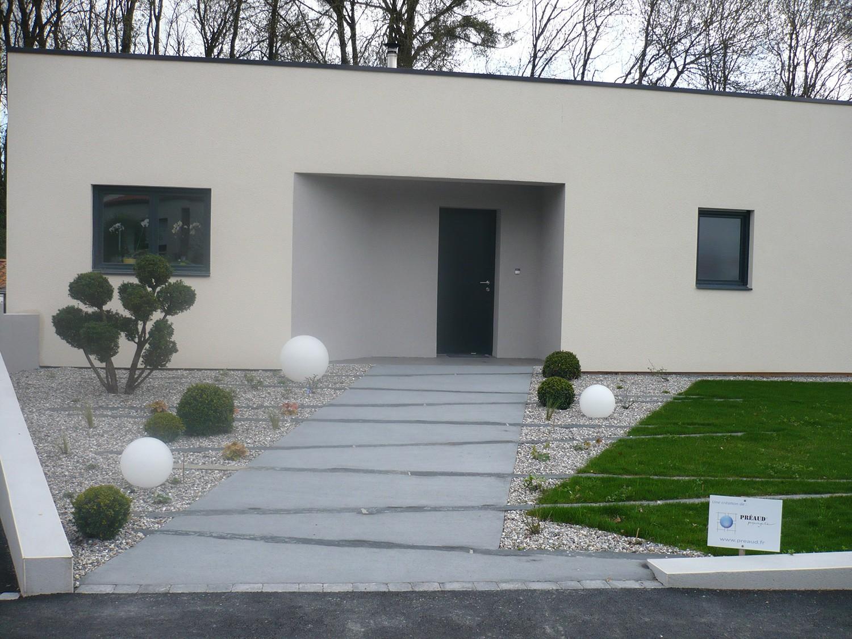 Beautiful allee de jardin en schiste gallery design for Allee de jardin moderne
