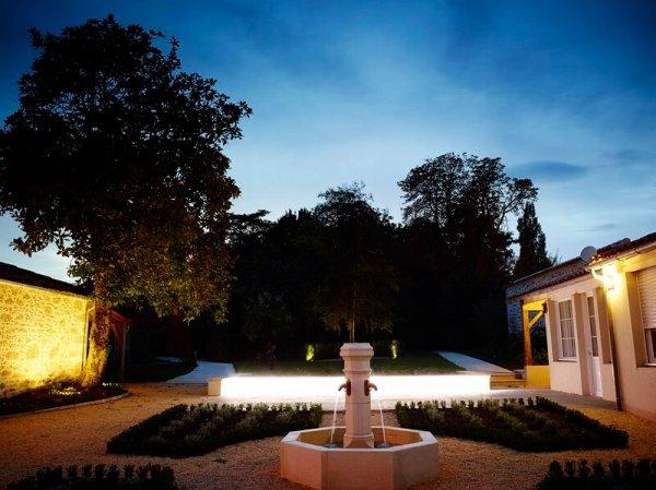 Jardin à la Française et fontaine